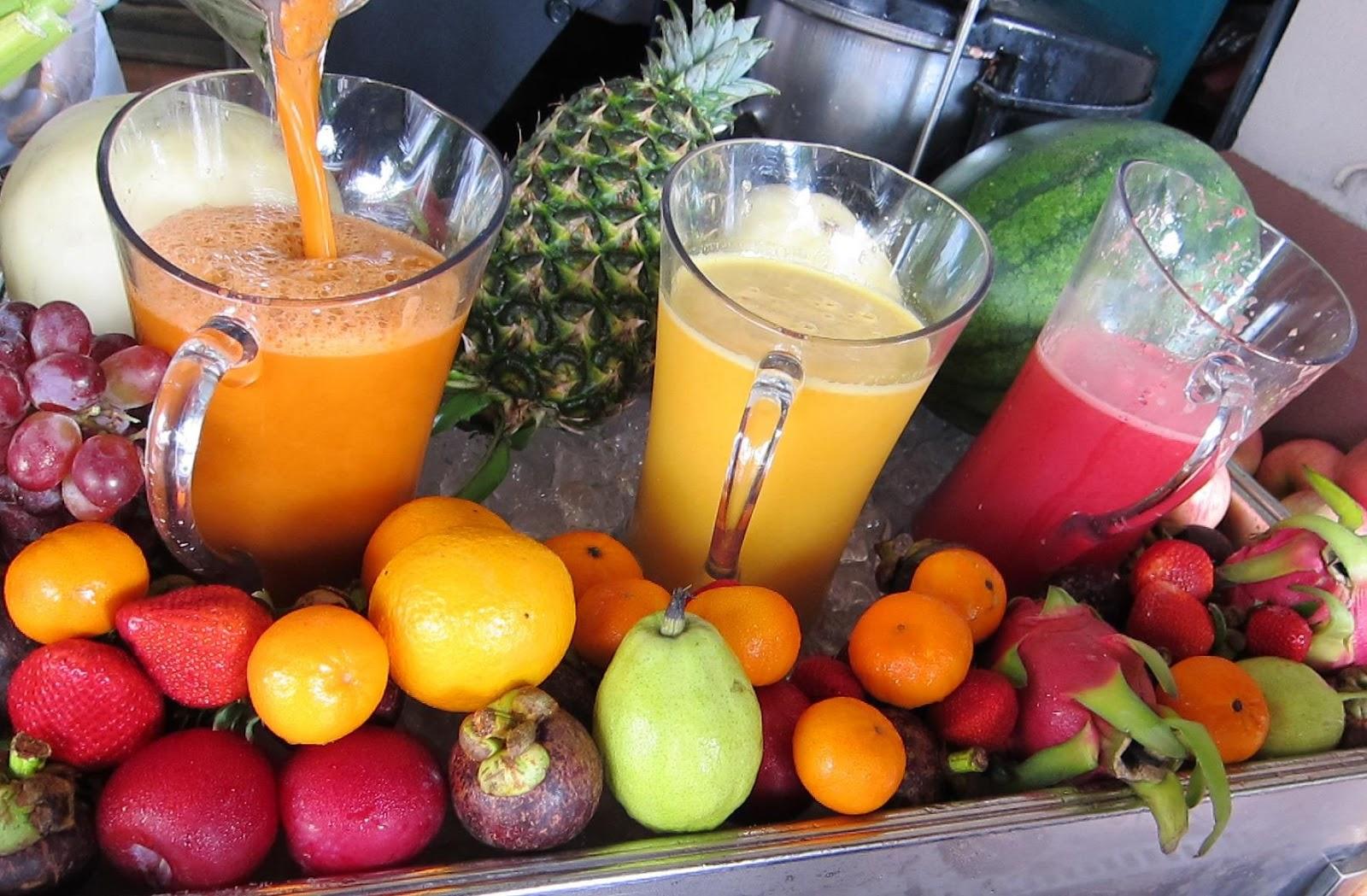 jugo fruta
